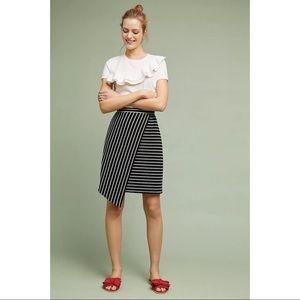 NWT Anthropologie Hutch Chauncey Wrap Skirt 12